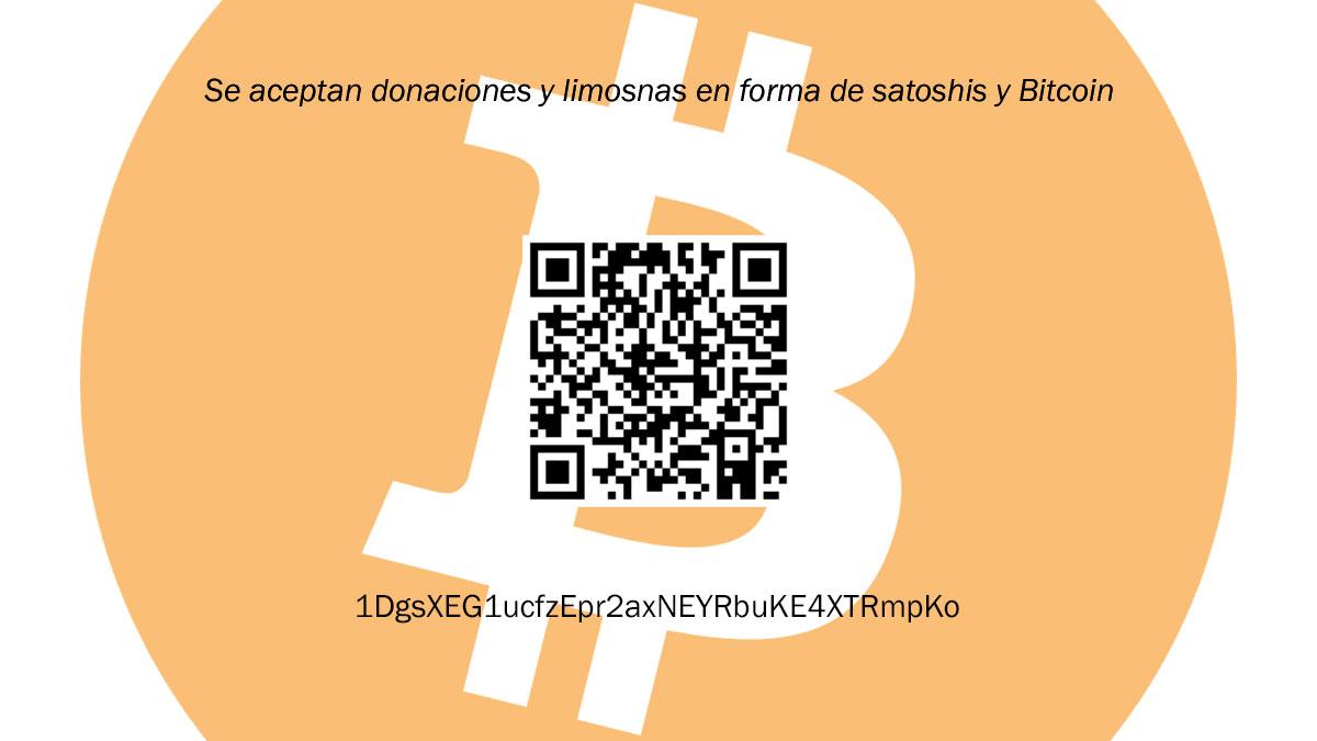 donaciones bitcoin